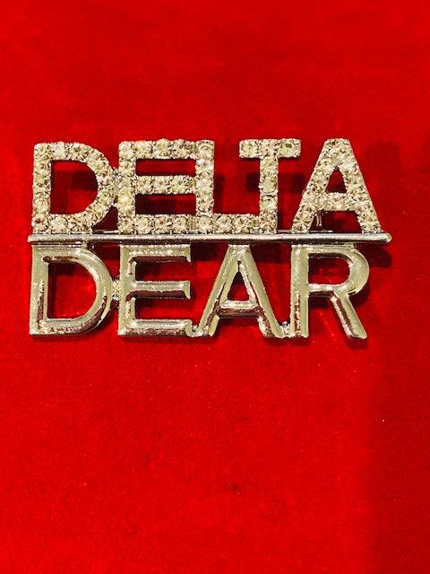 Delta Dear Pin