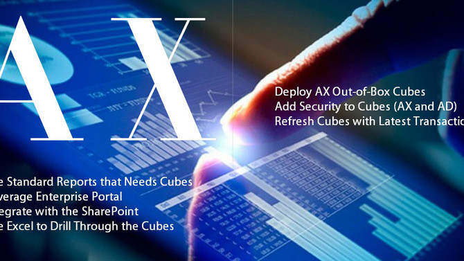 Leverage the Out-Of-Box Cubes and BI in Dynamics AX