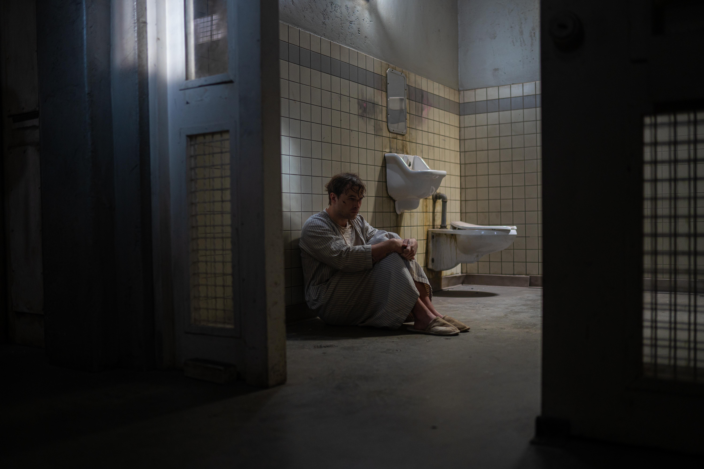 James Preston in cell