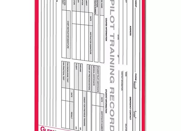 Sport Pilot Training Record