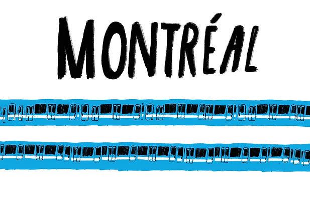 Metro Montreal Postcard