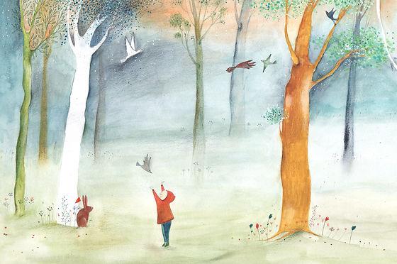 geboortekaart birth announcement card illustration illustratie childrens book illustration prentenboek