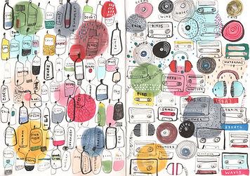 sketchbook doodle sketch illustration illustrator childrens vook illustration