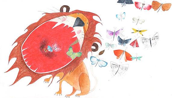 picture book carnaval des animaux carnaval der dieren lion ilustratie illustrator prentenboek concertgebouw childrens book illustration kinderboek kidlit saint-saens classical music theatre orchestra concert