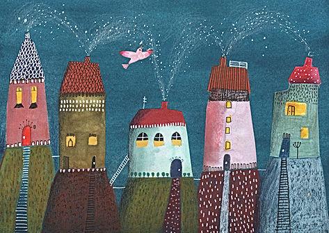 dreams collage collage art illustration drawing sketchbook ink colorpencil dutch illustrator