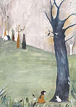 kidlit childrens book illustration childrens ilustration prentenboek illustratie wolf kinderboek forest