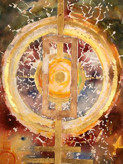 """Ulrich Rampp : """"Le cercle solaire"""" 1"""