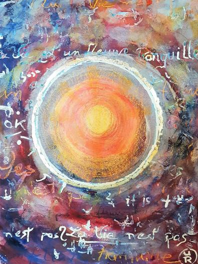 """Ulrich Rampp : """"Le cercle solaire"""" 5"""