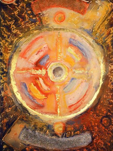 """Ulrich Rampp : """"Le cercle solaire"""" 4"""