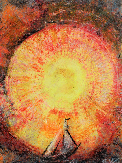"""Ulrich Rampp : """"Le cercle solaire"""" 6"""