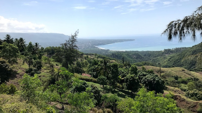 The view of Jacmel