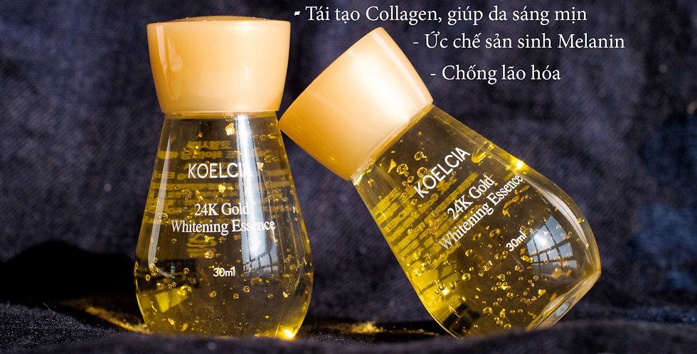 Tinh chất dưỡng trắng vàng 24K KOELCIA