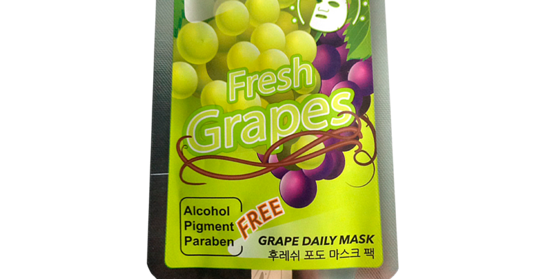 Mặt nạ kem với chiết xuất nho tươi Hàn Quốc