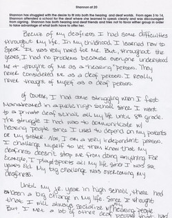 Shannon at 20 (page 1)