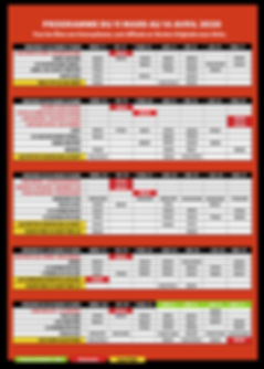 GRILLE HORAIRE mars avril 2020 planches.