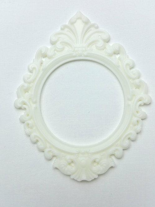 Resin Baroque Frame - set of 2