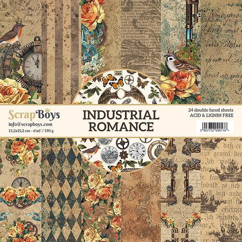 ScrapBoys Industrial Romance 6x6 Paper Pad -INRO-09