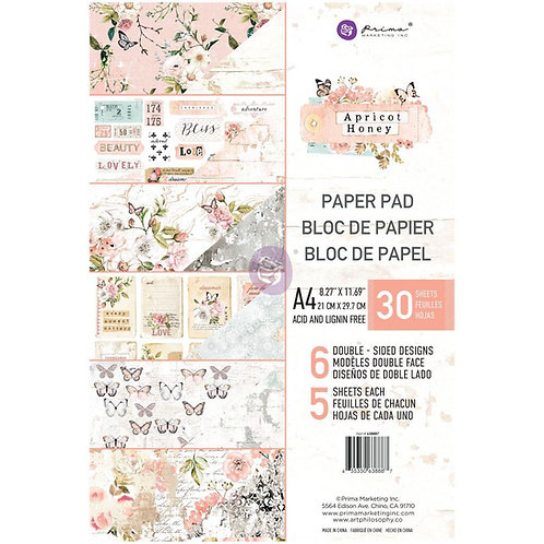 Prima A4 Apricot Honey - paper pad