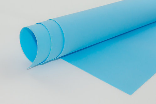 Foamiran - light blue A4
