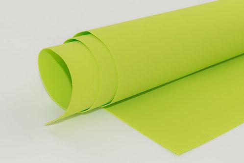 Foamiran - lime green A4