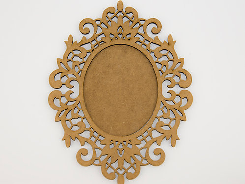 Ornamental Baroque Frame