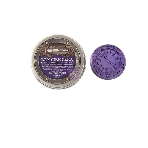Alchemy - Metallique Wax - Electric Violet