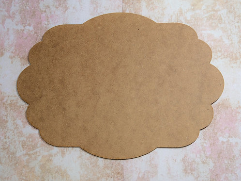 MDF Shape 02 - 28 cm x 20 cm