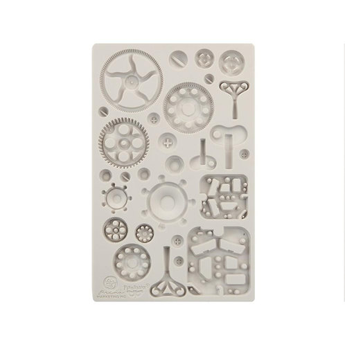 """Finnabair Mould Mechanica 5""""x8"""""""