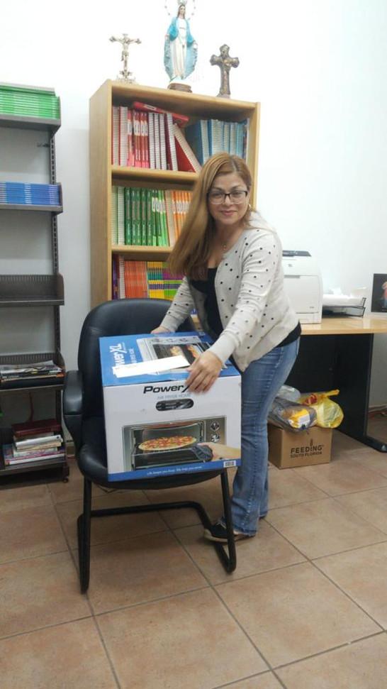 Ganadora de un premio sorpresa Un Air fryer Oven