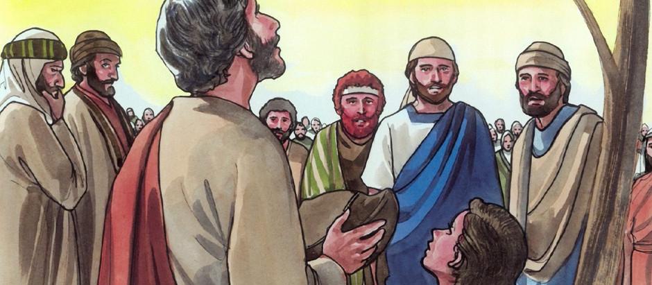 Abre señor tu mano y sácianos de favores