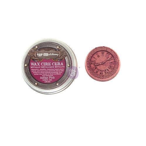 Alchemy - Metallique Wax - Indian Pink