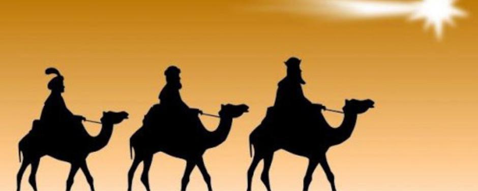 Los 3 reyes magos venidos de oriente