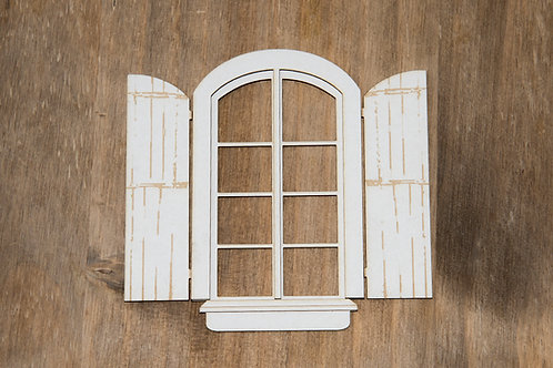 Window 02  with shutters