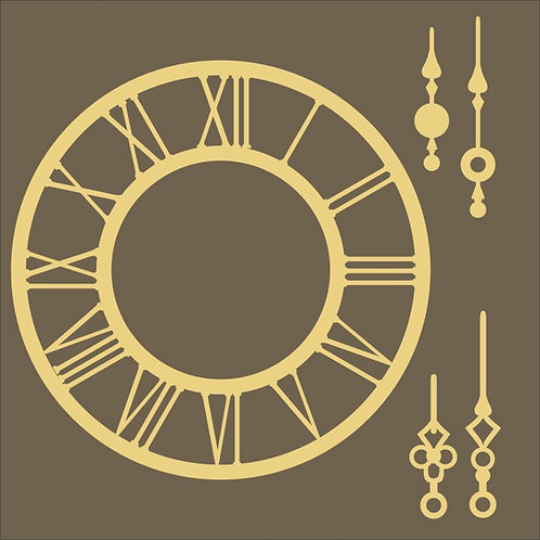 Clock 04 -  - 14 x 14 cm