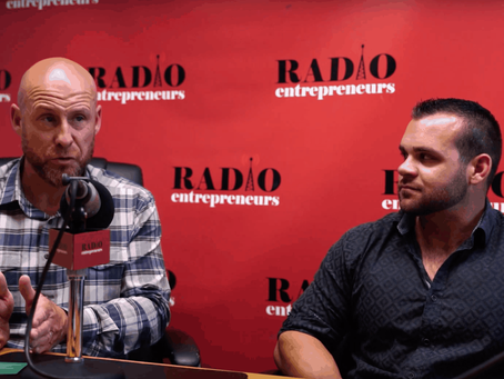 "Valiant's Eamonn and Chris featured ""In The Weeds"" presented by Radio Entrepreneurs"
