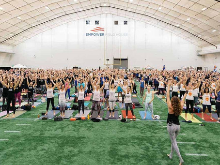 Valiant Executive Joins 'Yoga Reaches Out' Fundraising Campaign