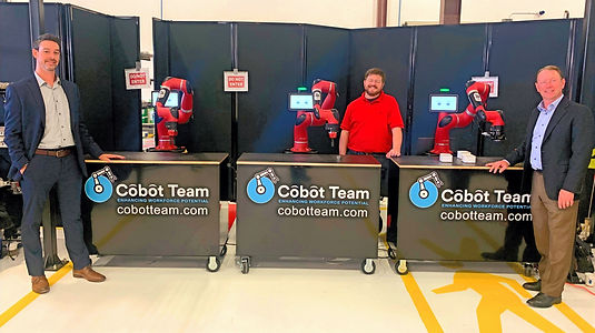 Cobot Team at OMIC_Manufacturing Day 202