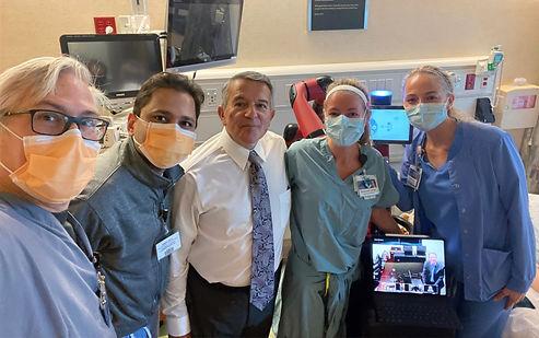 Mayo Clinic Trial Sawyer Cobot Team Reth