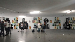 mockup conceptual wall