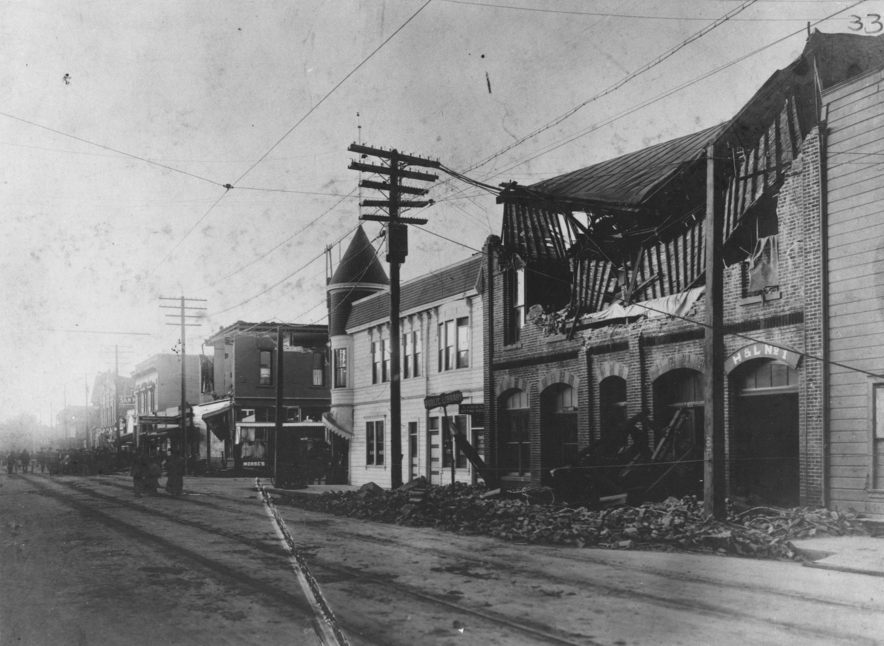 Damage from 1906 Earthquake
