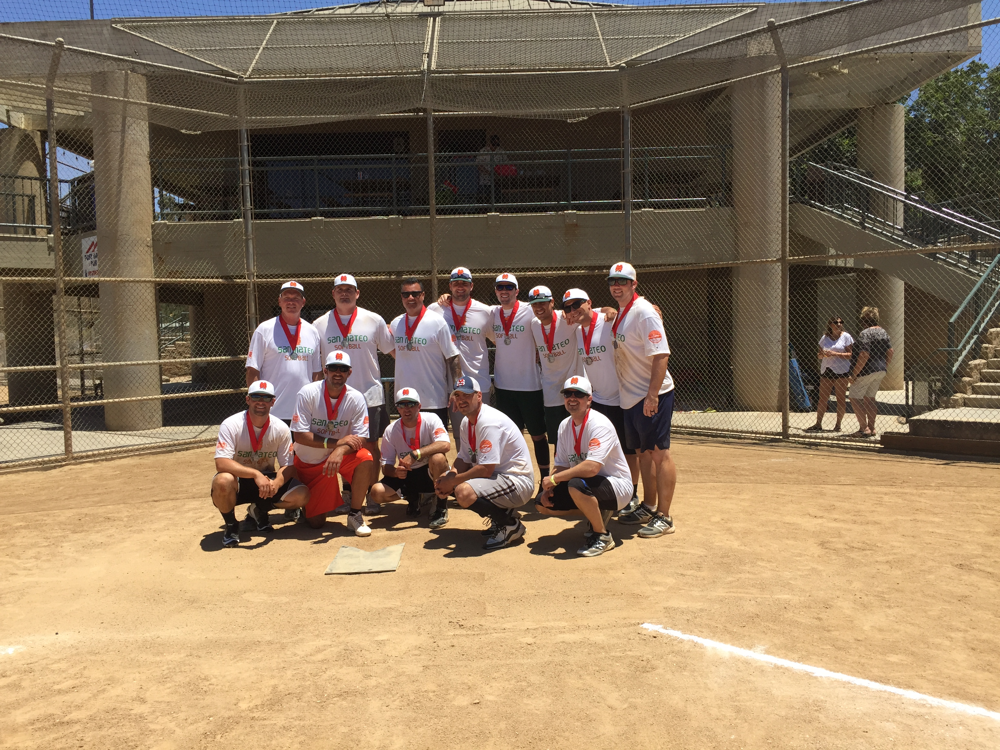 2017 Firefighter Olympics Softball Silver Medal Winners