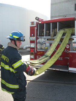 Cadet Training 5 inch supply line