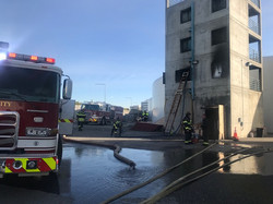 Training at hose tower