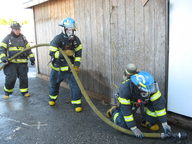 Cadet Training Fire Attack