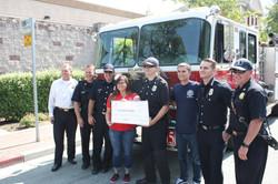Alisa Ann Ruch Burn Foundation Donation