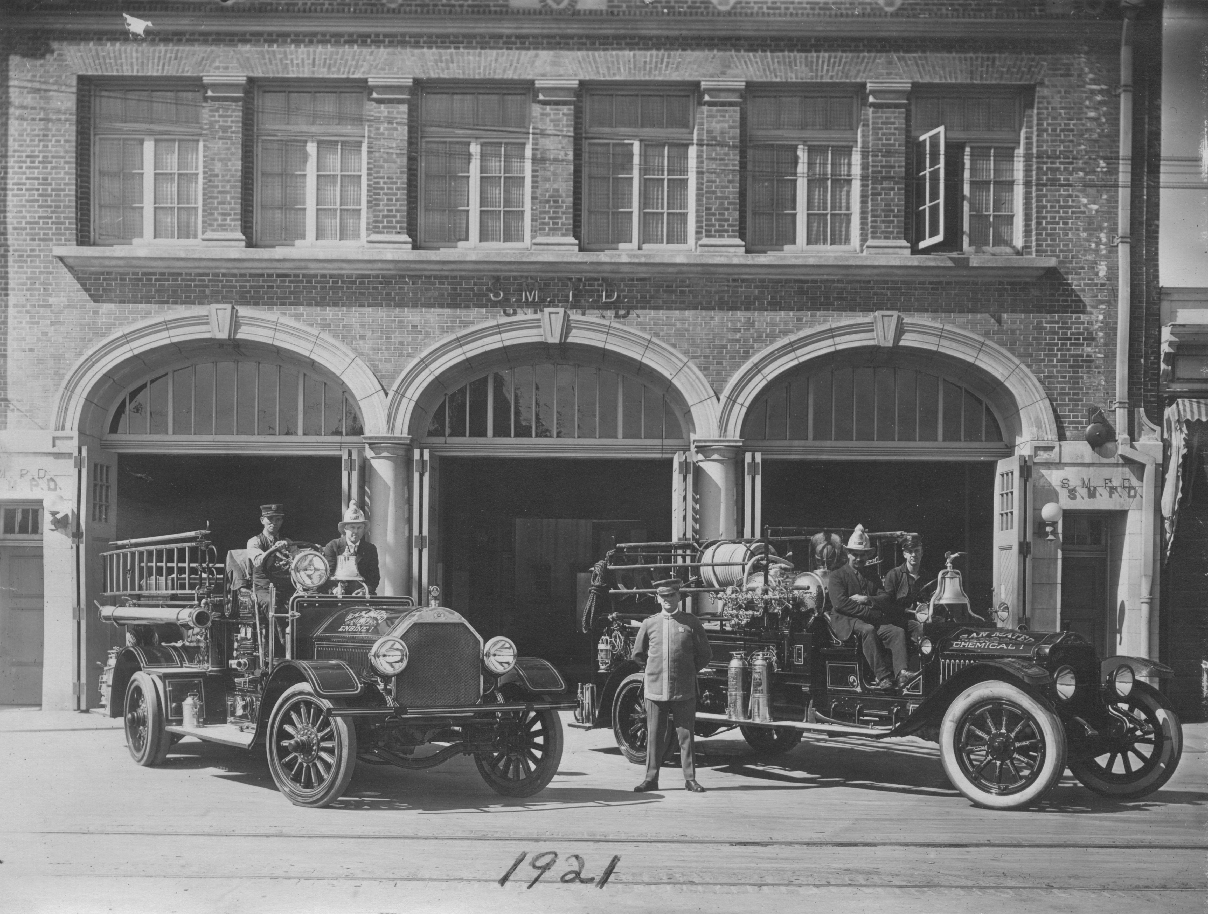 San Mateo Main Station circa 1921