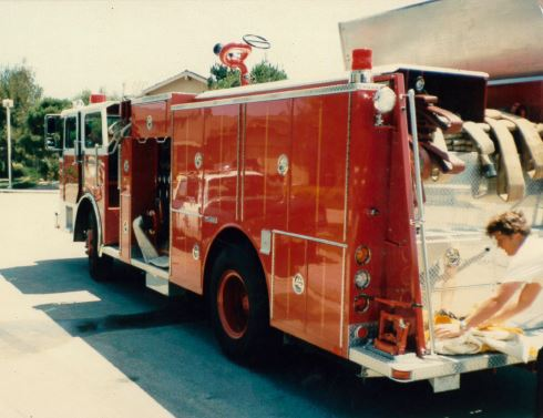 Foster City Fire Engine