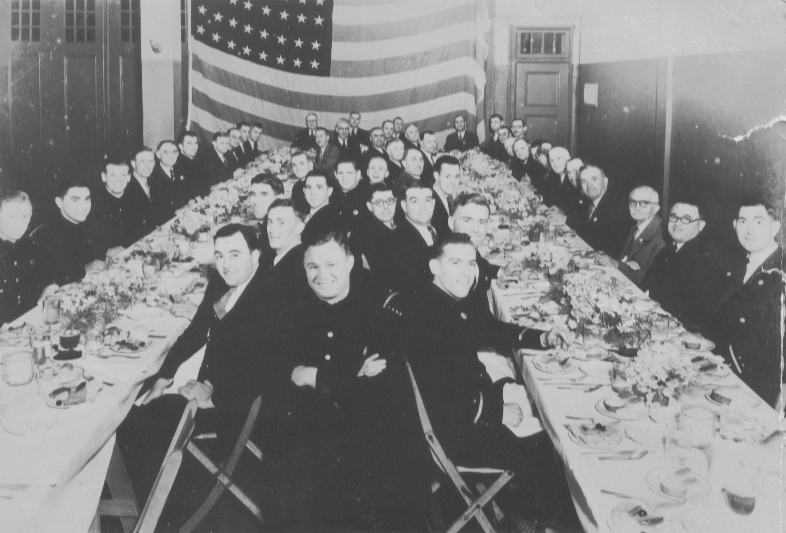 Firefighter Banquet June 1934