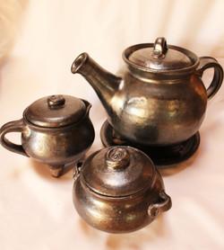 Cauldron Tea Set