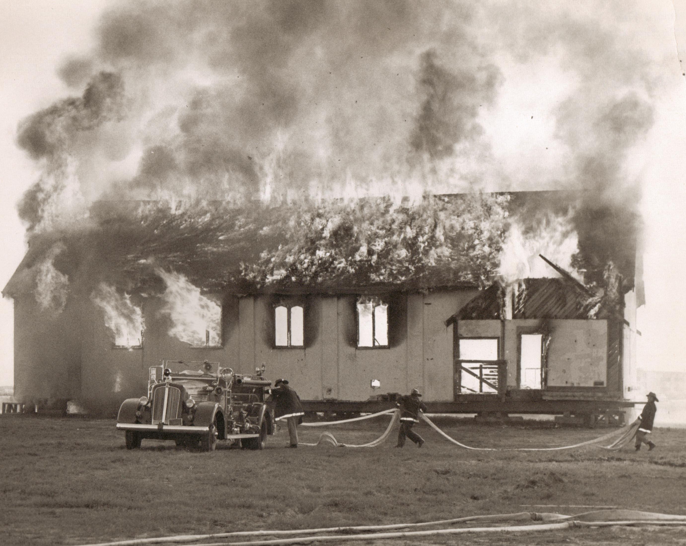 St. Mark's Training Burn